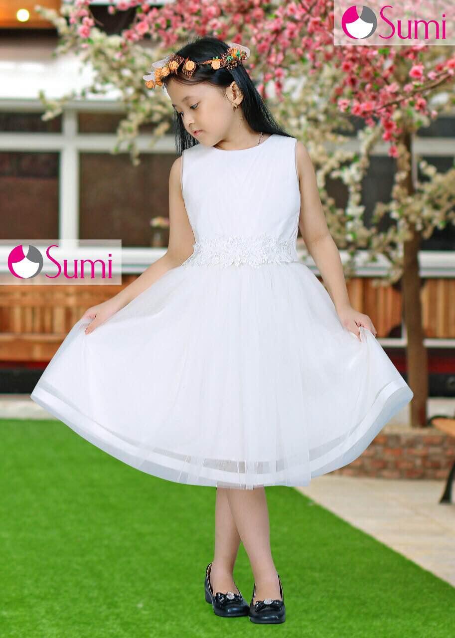 Quần áo trẻ em giá sỉ tại TPHCM - Đầm công chúa Sumi