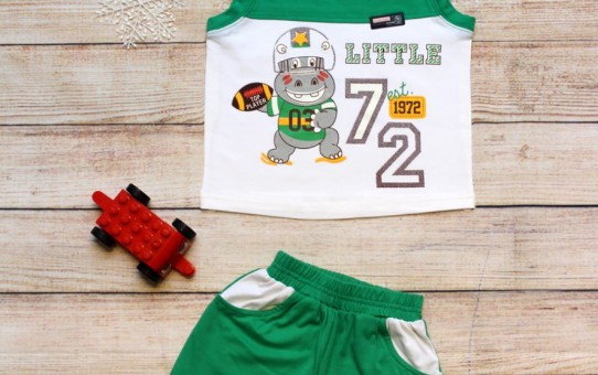 Quần áo trẻ em giá sỉ tại tphcm - Bộ sọt hà mã