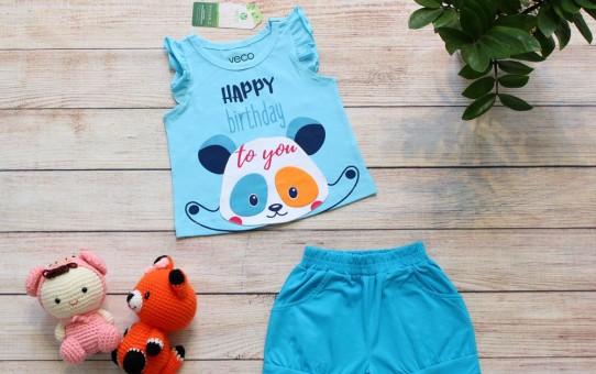 Quần áo trẻ em giá sỉ tại TPHCM - mẫu sọt gấu panda