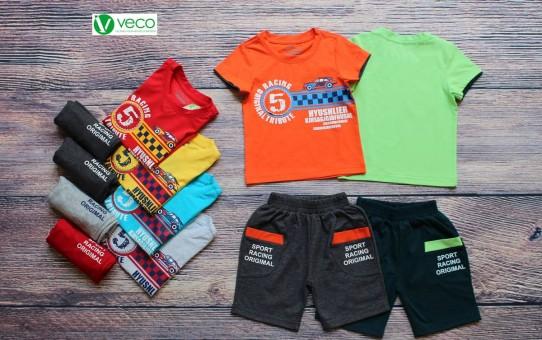 Bộ thun số 5 - quần áo trẻ em giá sỉ tại TPHCM