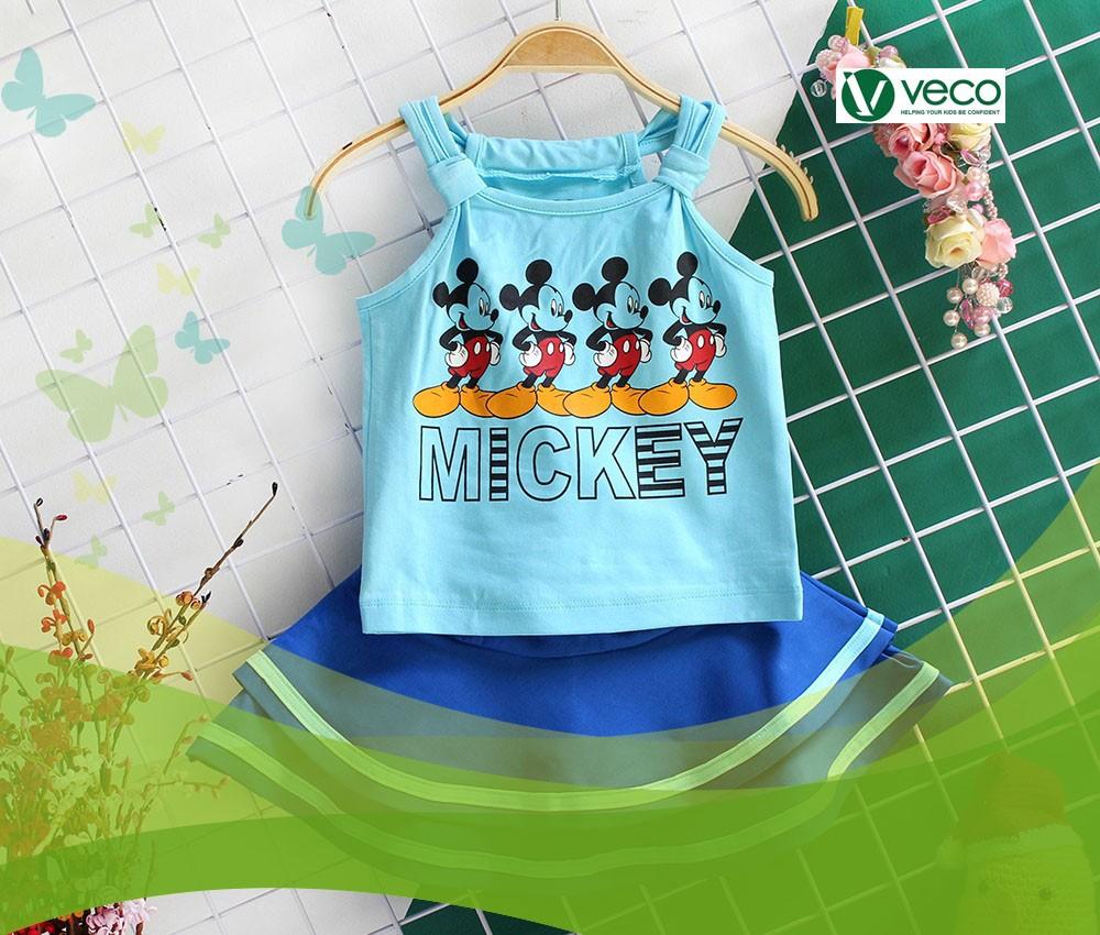 Thời trang Tết 2020 cho bé gái-Xưởng quần áo trẻ em giá sỉ Veco
