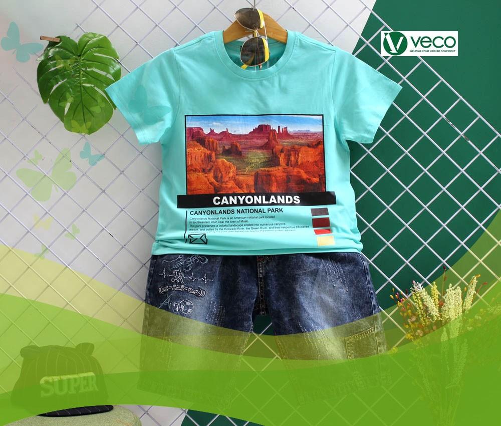 Thời trang Tết 2020 cho bé trai-Xưởng quần áo trẻ em giá sỉ Veco